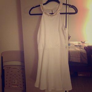 White Cocktail Dress